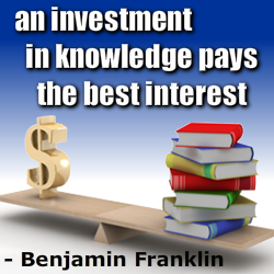 knowledge pays best interest